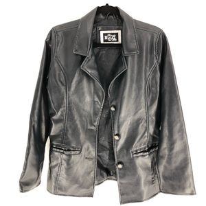 Reporter R.D.G Miliano leather jacket